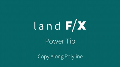Power Tip: Copy Along Polyline