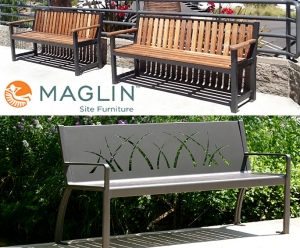 Now Featuring: Maglin Public Site Furniture