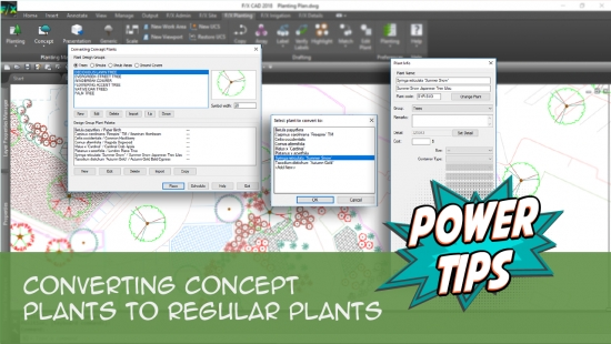 Power Tip: Converting Concept Plants to Regular Plants