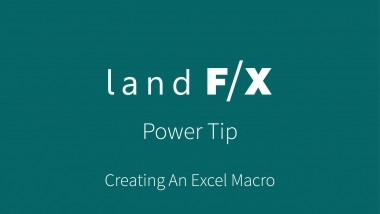 Power Tip: Creating An Excel Macro