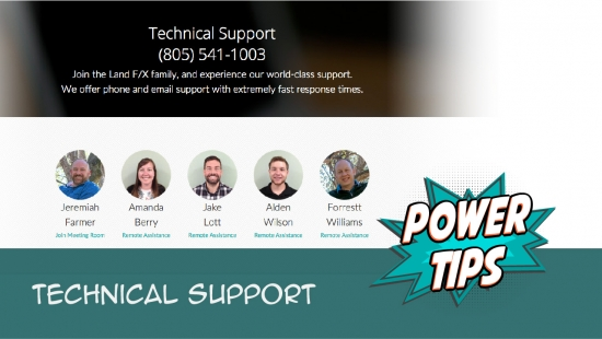 Power Tip: Technical Support