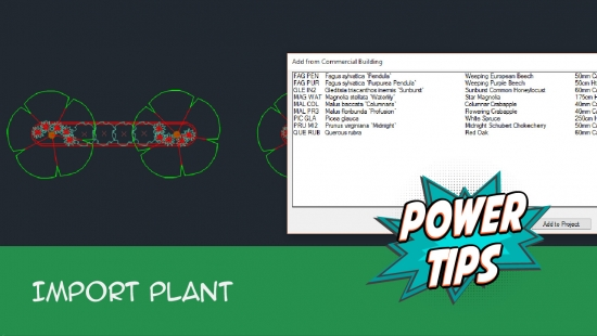Power Tip: Import Plant