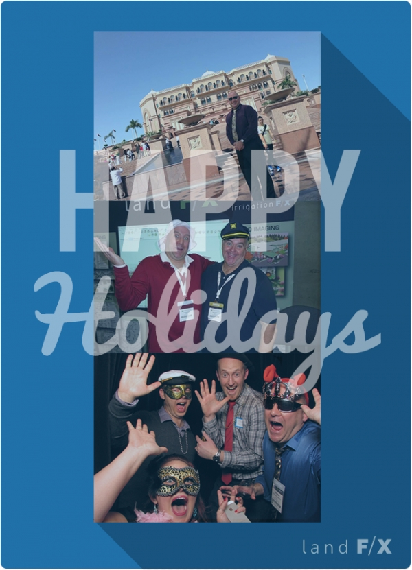 Land F/X - Holiday Greeting 2013
