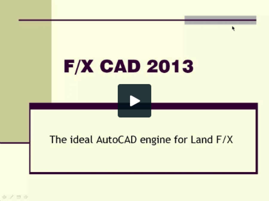 Showing off F/X CAD 2013