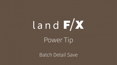 Power Tip: Batch Detail Save