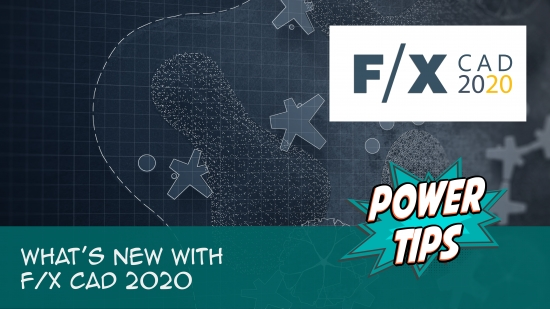 Power Tip: What's New with F/X CAD 2020
