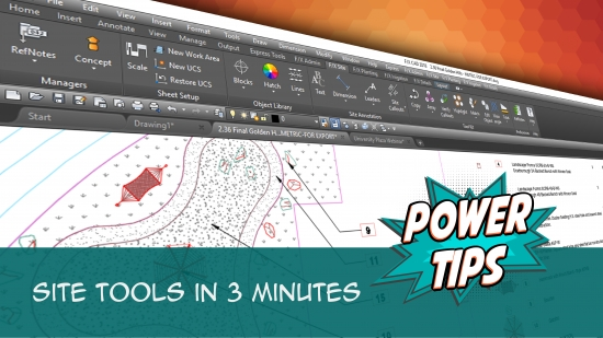 Power Tip: Site Tools in 3 Minutes