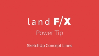 Power Tip: SketchUp Concept Lines