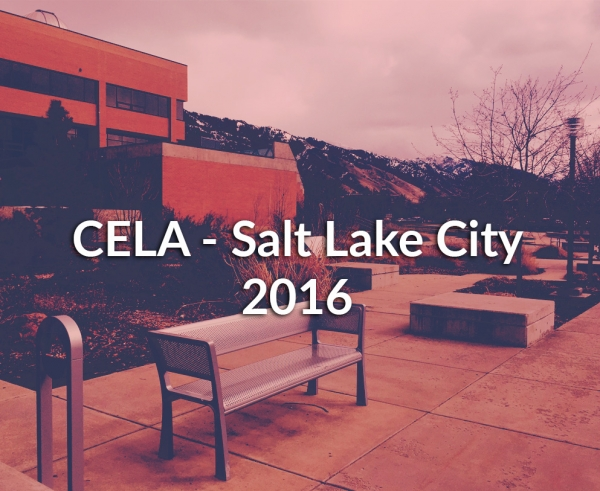 CELA - Salt Lake City - 2016