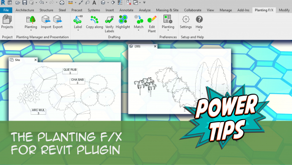 Power Tip: The Planting F/X for Revit Plugin