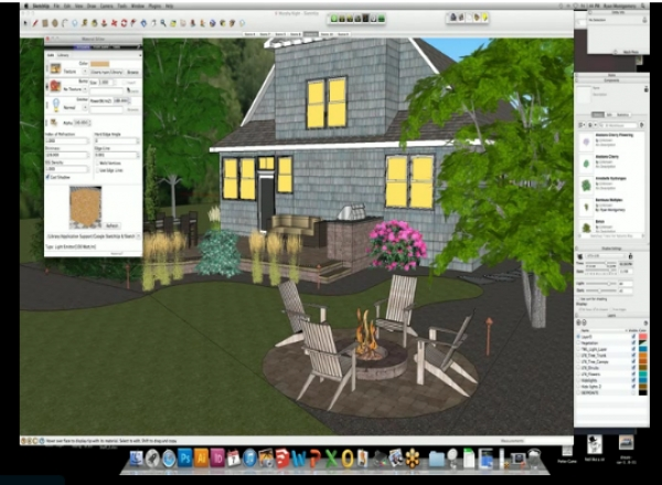 SketchUp & Twilight 3D Rendering