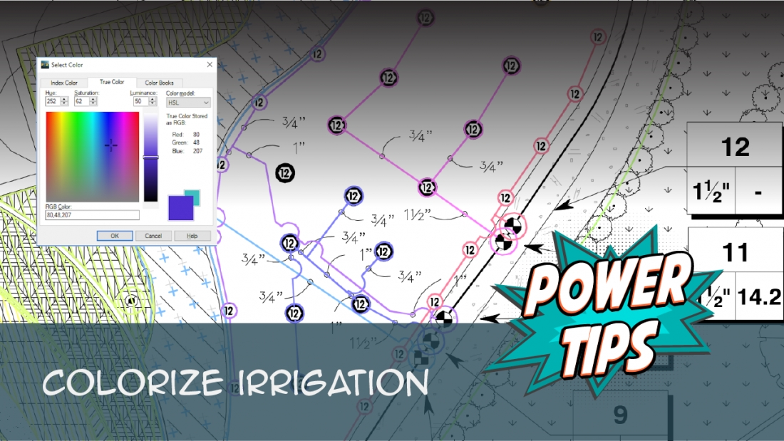 Power Tip: Colorize Irrigation