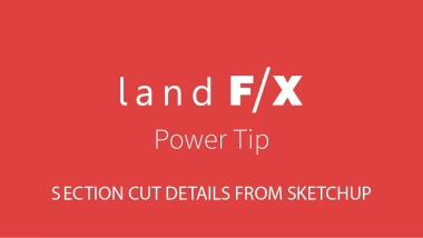 Power Tip: Section Cut Details from Sketchup