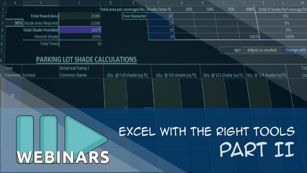 Excel With The Right Tools - Part 2